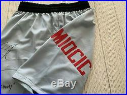 Stipe Miocic autographed signed inscribed trunks UFC The Champ PSA COA