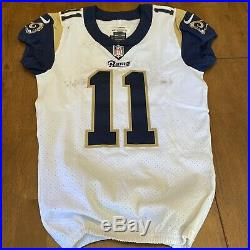 Tavon Austin Signed Autographed 2017 Game Used / Worn LA Rams Jersey Inscribed