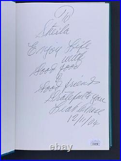 The Dooky Chase Cookbook Leah Chase Signed Autograph Auto JSA COA RARE