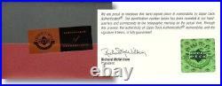 Tiger Woods Signed Autographed 16X24 Framed Tegata Handprint Inscribed #/50 UDA