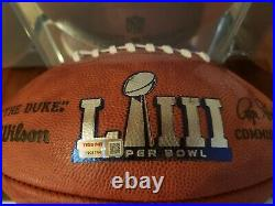 Tom Brady Signed Autographed Inscribed SB Football