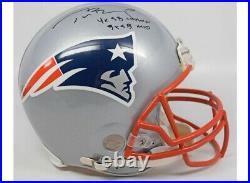 Tom Brady Signed Inscribed PROLINE Patriots Helmet Tristar 10/12 Autographed