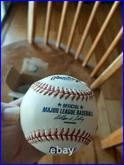 Tom Seaver Autographed Inscribed HOF 92 Official MLB Baseball Guaranteed