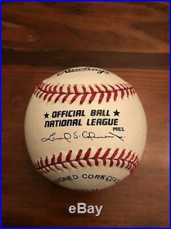 Tom Seaver Inscribed Hof'92 Autographed Rawlings Mlb Baseball New York Mets