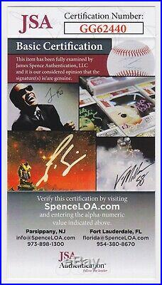 Tom Seaver Signed 8x10 Photo Autograph Inscribed The Franchise Jsa Certificate