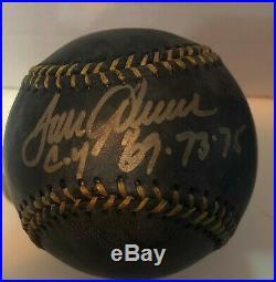 Tom Seaver Signed Black Official Mlb Baseball Auto Inscribed Cy'69.73.75 Jsa