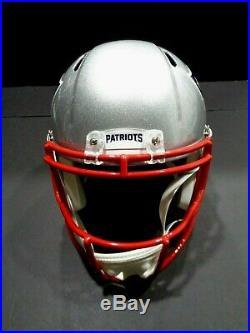 Ty Law New England Patriots Autographed Inscribed F/S Speed Rep Helmet COA JSA