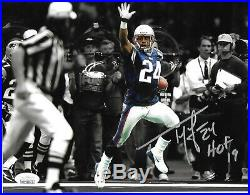 Ty Law New England Patriots Autographed hand Signed Inscribed 16x20 photo JSA