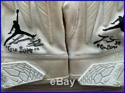 Tyrann Mathieu autographed inscribed Game Used Gloves NFL Kansas City Chiefs JAG