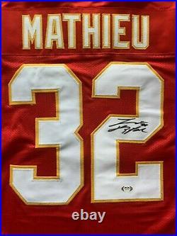Tyrann Mathieu autographed signed inscribed jersey NFL Kansas City Chiefs PSA