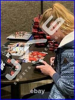 Valentina Shevchenko autographed signed inscribed glove UFC PSA COA Bullet