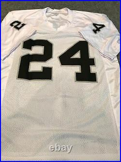Willie Brown Autographed Signed Inscribed Oakland Raiders Jersey Jsa Coa