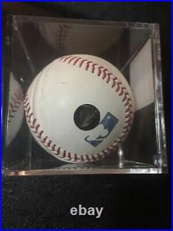 Willie Mays Autographed Inscribed Baseball 660 HR Say Hey Auto Signed