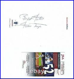 Willie Mays Signed American Airlines Stationary Inscribed Autograph Auto Jsa