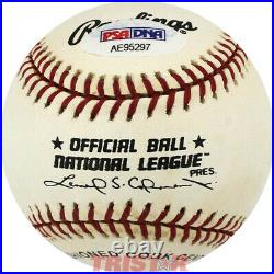 Willie Mays Signed Autographed Nl Baseball Inscribed Say Hey Psa
