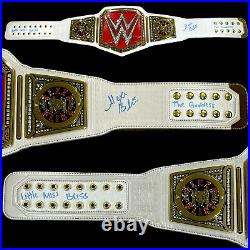 Wwe Alexa Bliss Hand Signed Inscribed Raw Womens Adult Belt With Proof And Coa