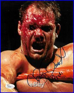 Wwe Chris Benoit Hand Signed Autographed Photo Inscribed 4 Real Jsa Coa P99829