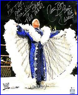 Wwe Ric Flair Hand Signed Autographed 16x20 Photo Inscribed With Beckett Coa Woo