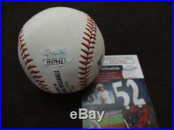 Yogi Berra Signed Auto Autograph Omlb Baseball Inscribed Hof 72 Jsa Coa Bb846