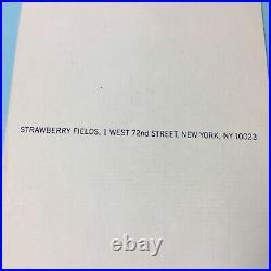 Yoko Ono Lennon & Sean Lennon Autographed & Inscribed Imagine Card Pc879